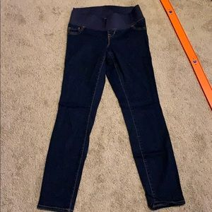Old Navy maternity jeans